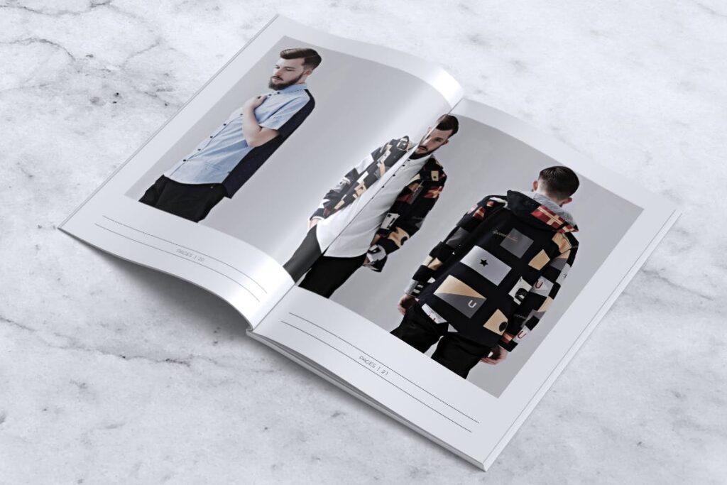 女性时尚服装品牌杂志模板BLANKS Minimal Fashion Magazine插图(10)