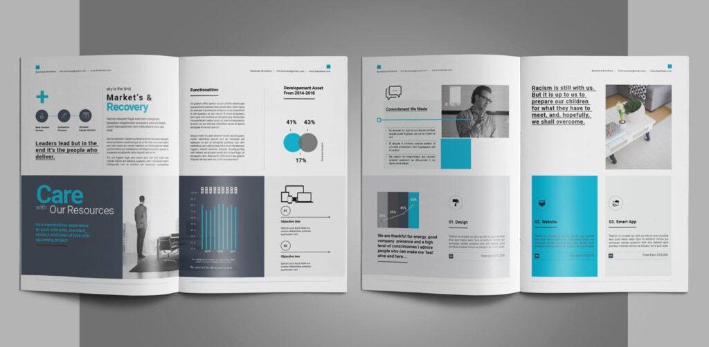 企业简介商务手册历史介绍杂志画册模板Business Profile插图(10)