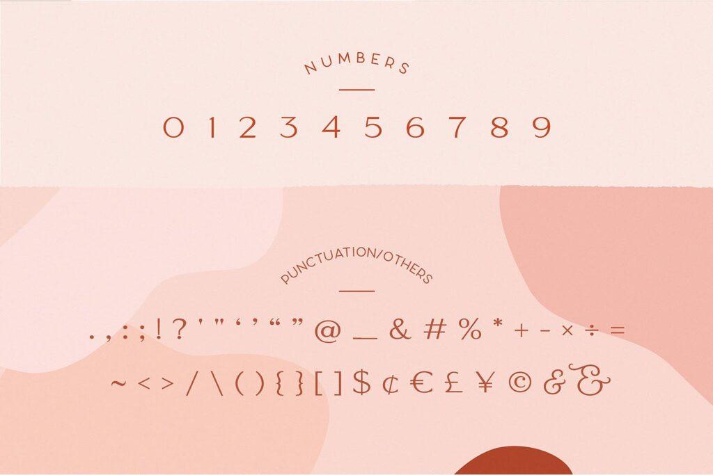 服装品牌装饰手写字体下载Classy Marisa Elegant Typeface插图(9)