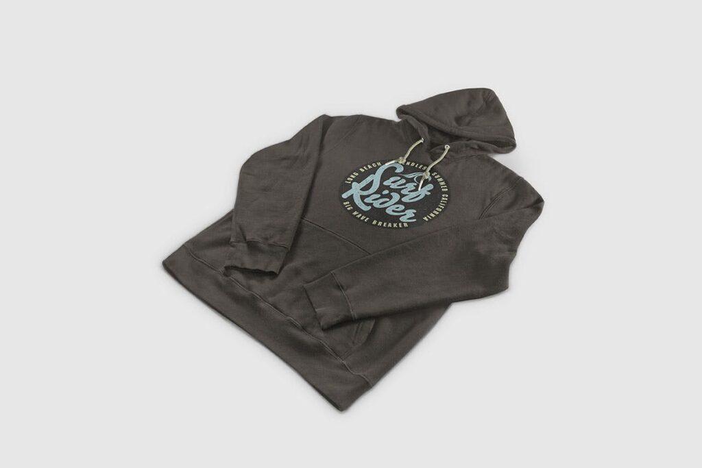 多色卫衣服装品牌样机模型素材样机pColor Hoodie Sweatshirt Mockup插图(10)
