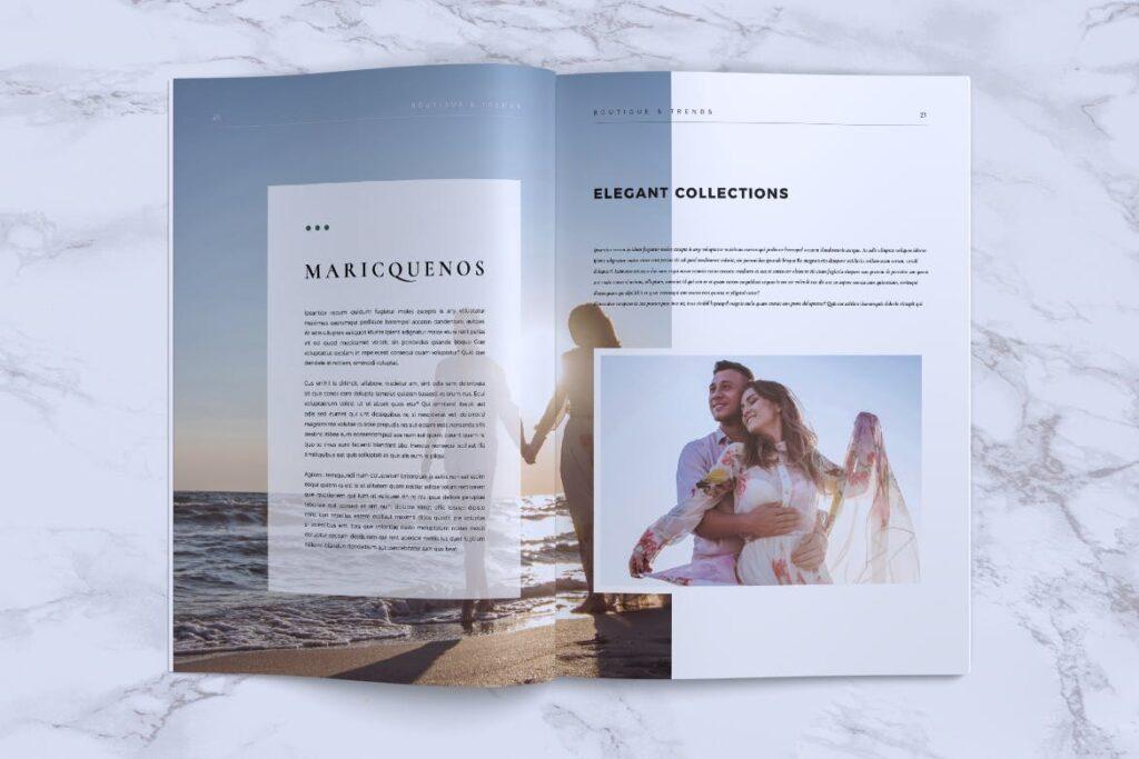 优雅时尚多用途杂志模板MISQUEEN Minimal Magazine Styles插图(10)