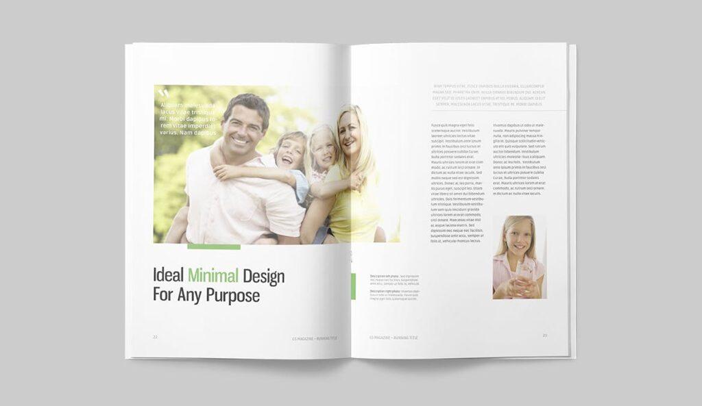高端医学周刊/医疗咨询杂志画册模板Minimal Magazine插图(10)