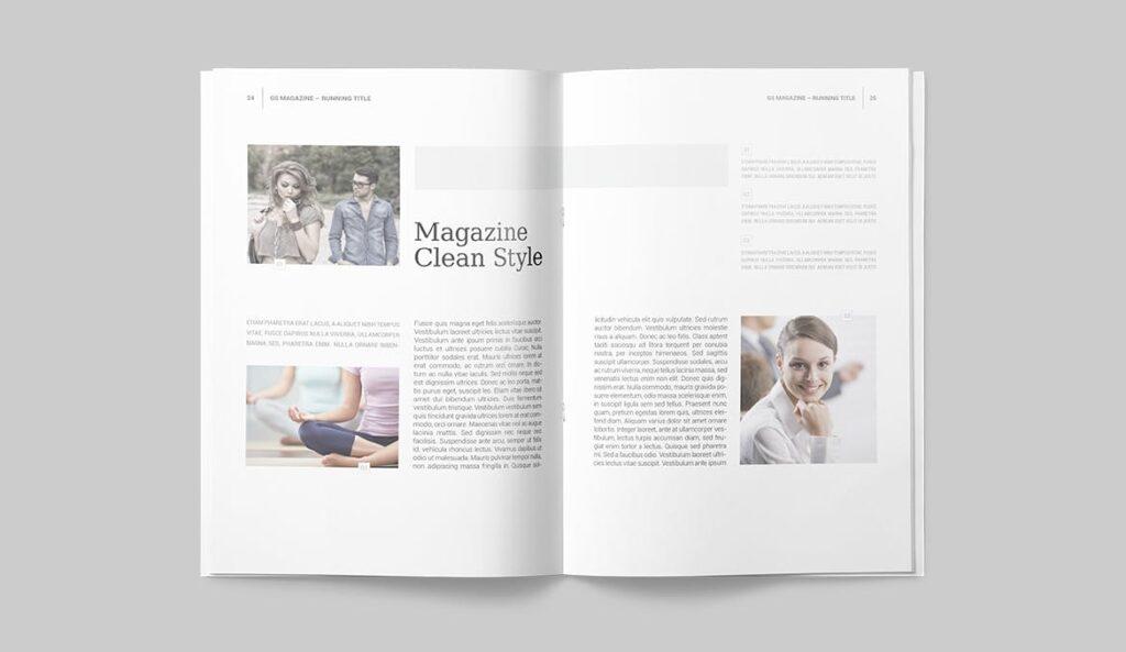 企业商务多用途/企业规划手册模板Magazine Template插图(10)