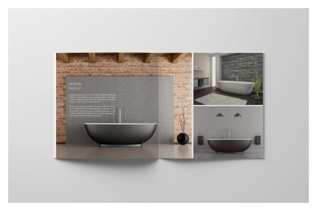 多用途目录/小册子/投资组合画册杂志模板Portfolio Brochure Catalogs插图(9)