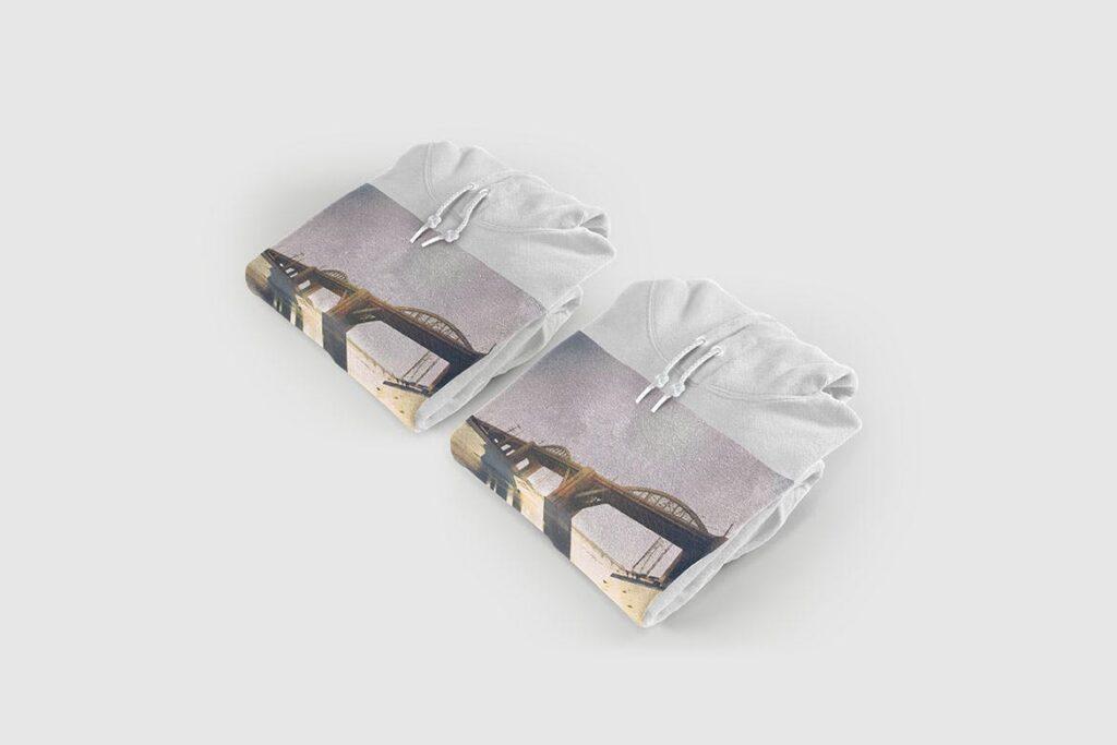 多色卫衣服装品牌样机模型素材样机pColor Hoodie Sweatshirt Mockup插图(11)