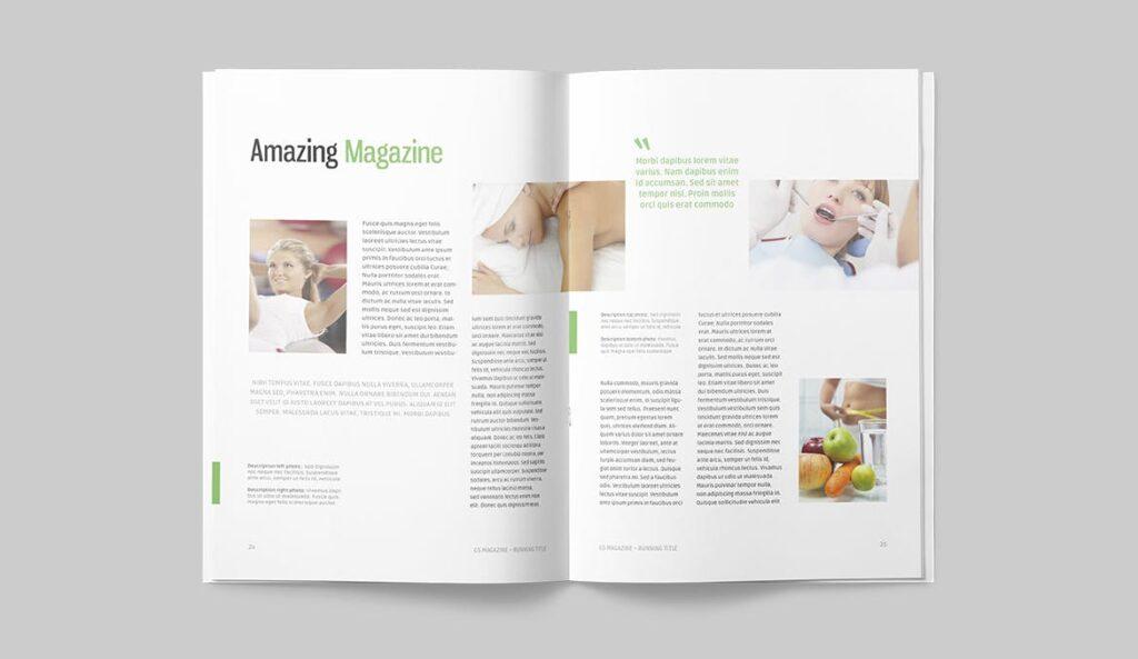 高端医学周刊/医疗咨询杂志画册模板Minimal Magazine插图(11)