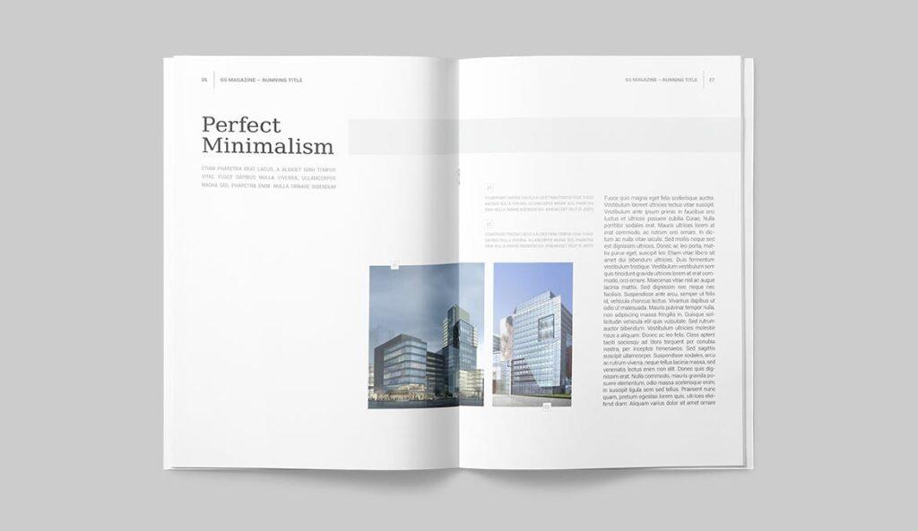 企业商务多用途/企业规划手册模板Magazine Template插图(11)