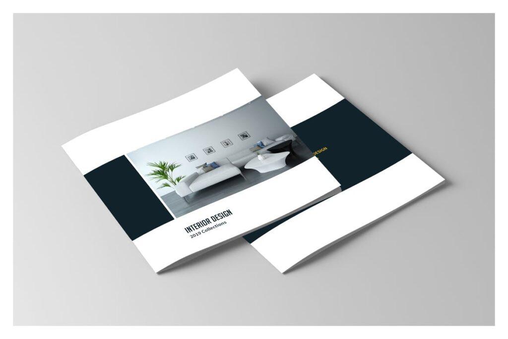 多用途目录/小册子/投资组合画册杂志模板Portfolio Brochure Catalogs插图(10)
