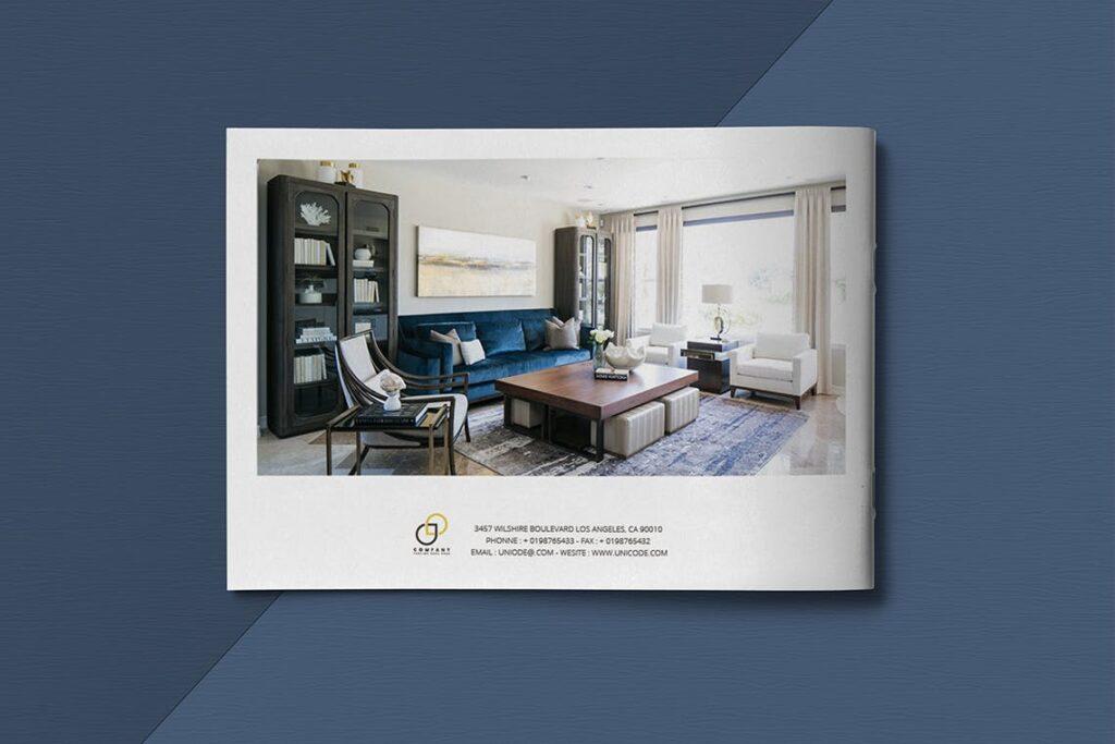 横版家居室内设计画册杂志模版A5 Interior Catalogue ASFEWQ插图(12)