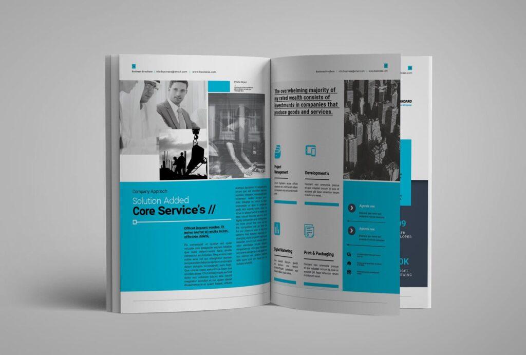 企业简介商务手册历史介绍杂志画册模板Business Profile插图(12)