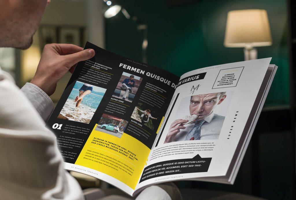 健身运动主题周刊杂志模板/Magazine插图(12)