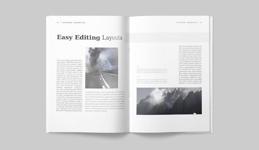 企业商务多用途/企业规划手册模板Magazine Template插图(12)