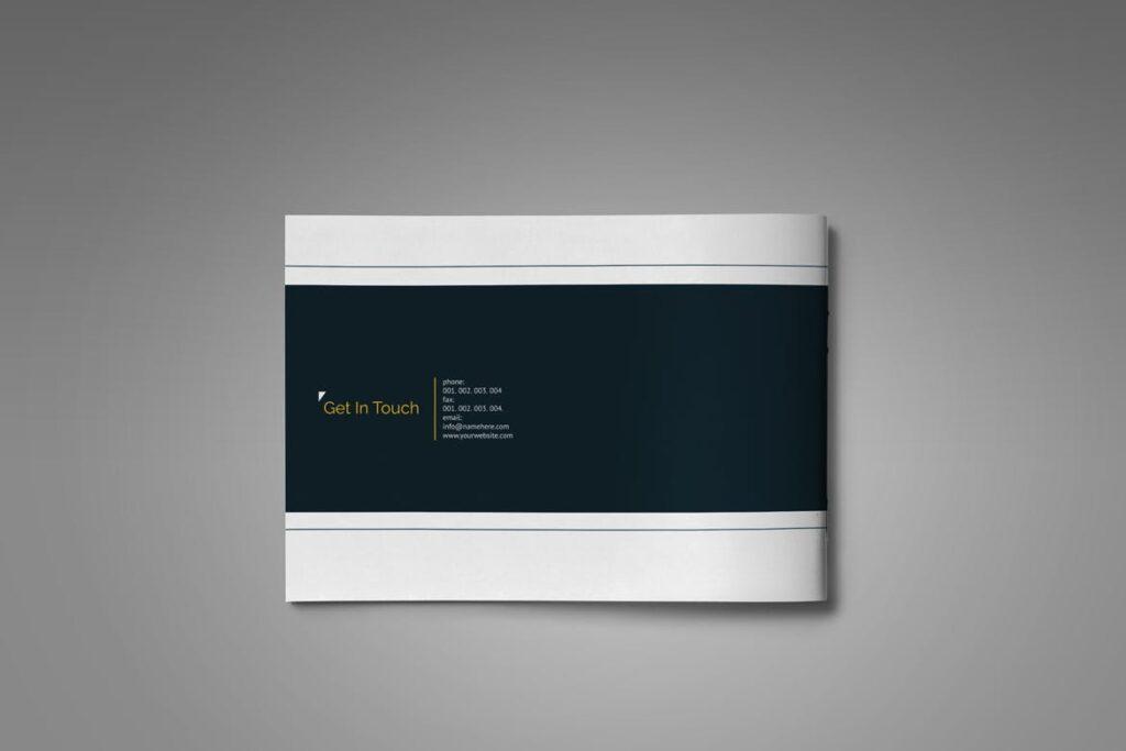 横版家居产品介绍/目录/投资组合画册模版素材Portfolio Brochure Catalog插图(10)