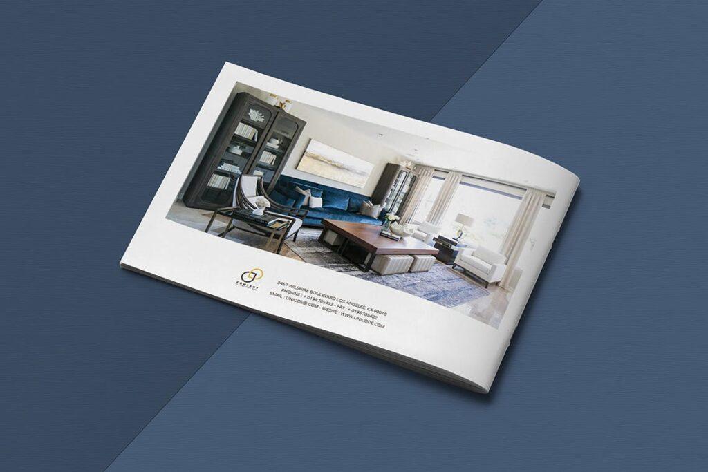 横版家居室内设计画册杂志模版A5 Interior Catalogue ASFEWQ插图(13)
