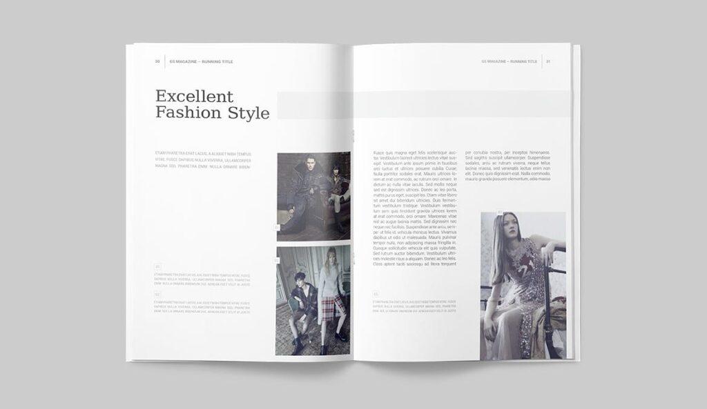 企业商务多用途/企业规划手册模板Magazine Template插图(13)