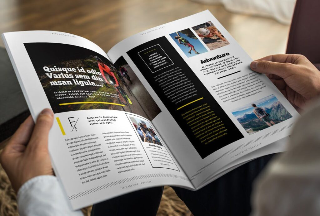 健身运动主题周刊杂志模板/Magazine插图(14)