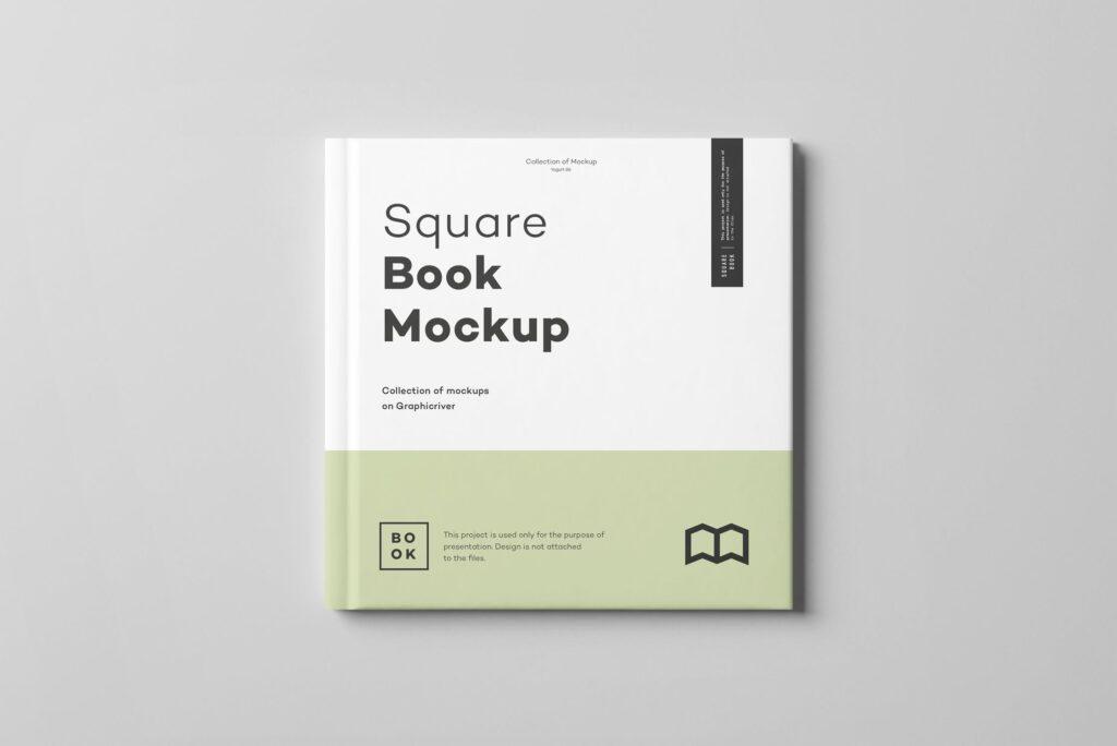 文艺优雅正方形书籍样机模板下载Square Book Mock up 2插图(13)