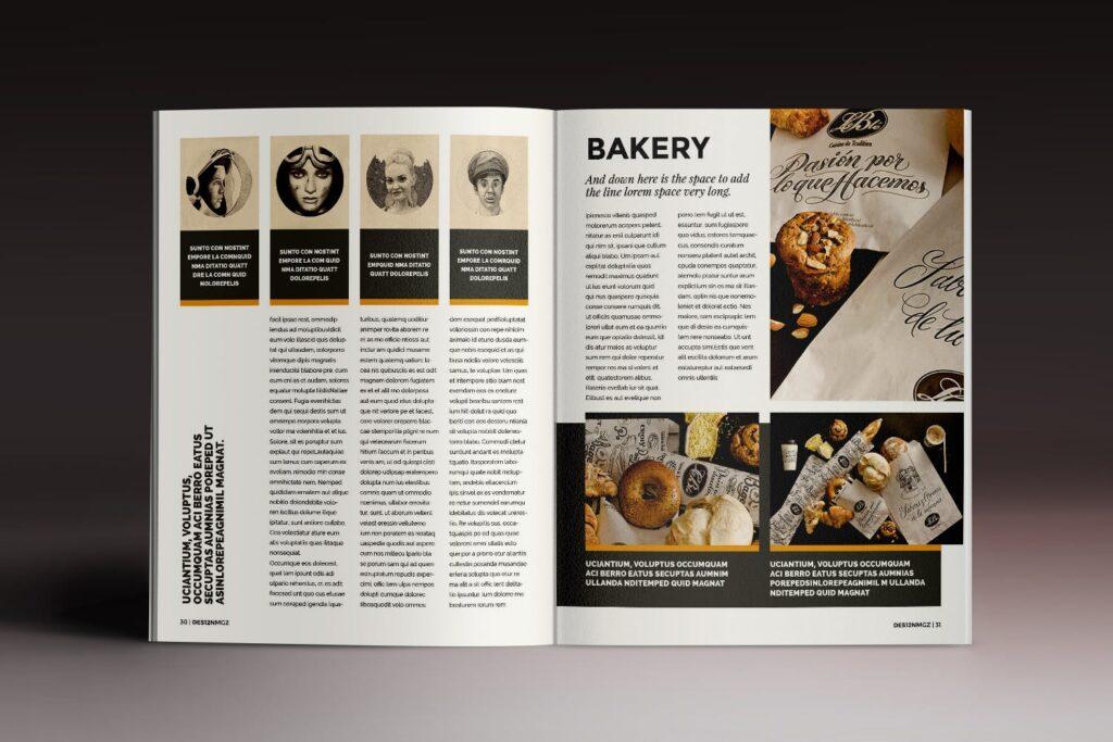 32页时代周刊画册杂志模板Des12n Magazine Indesign Template插图(13)