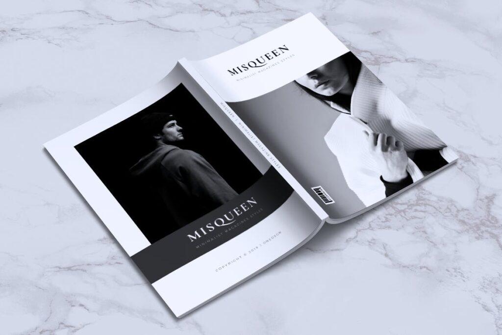 优雅时尚多用途杂志模板MISQUEEN Minimal Magazine Styles插图(15)
