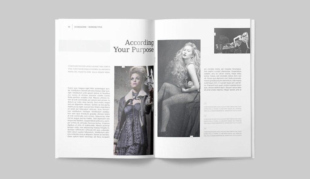 企业商务多用途/企业规划手册模板Magazine Template插图(15)