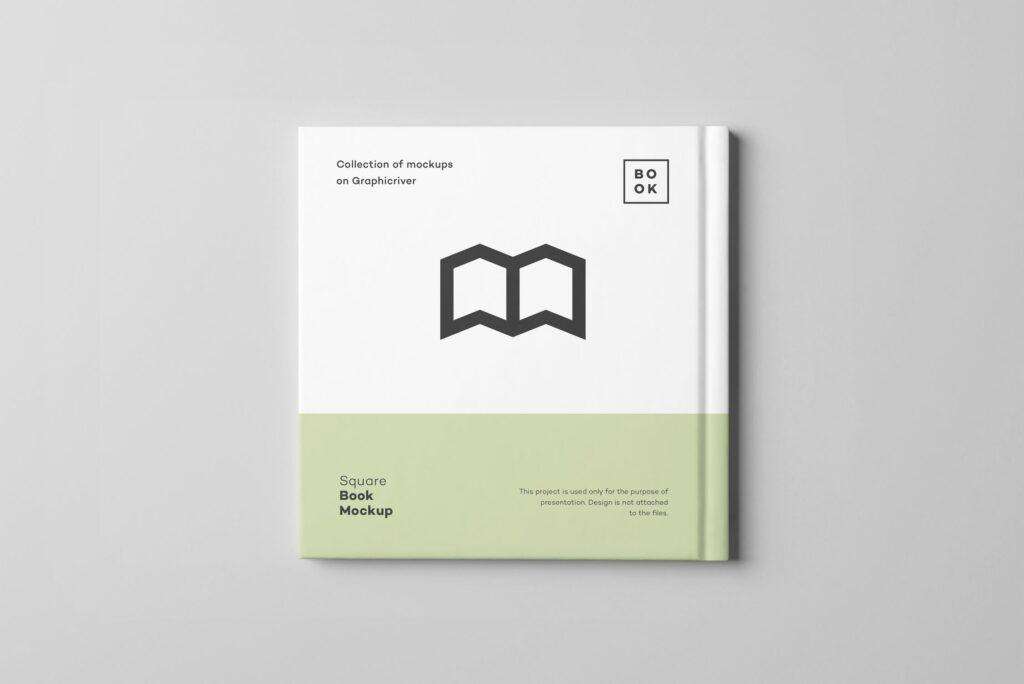 文艺优雅正方形书籍样机模板下载Square Book Mock up 2插图(14)