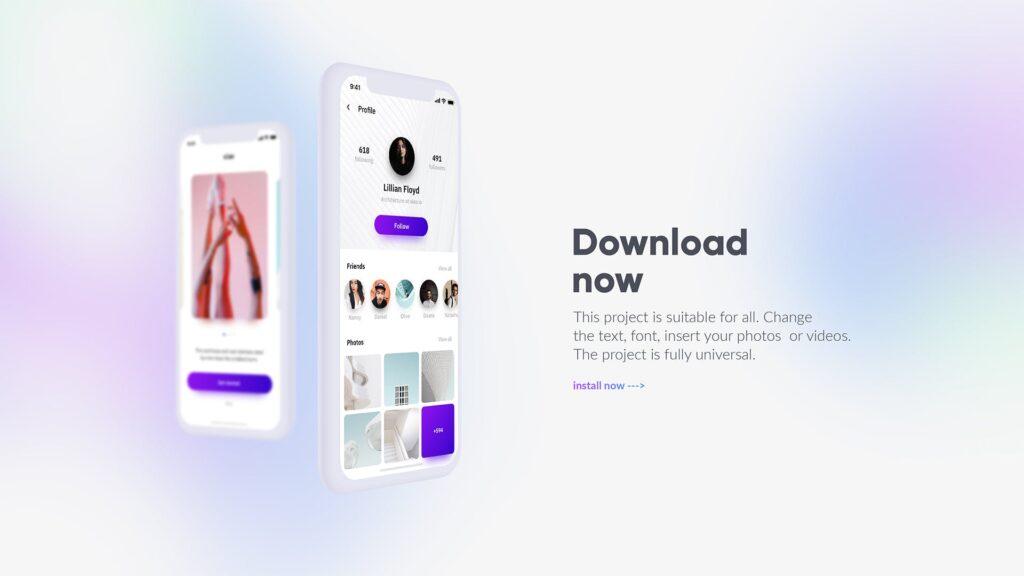 白色苹果手机多种展示模型样机下载White iPhone Mockup插图(15)
