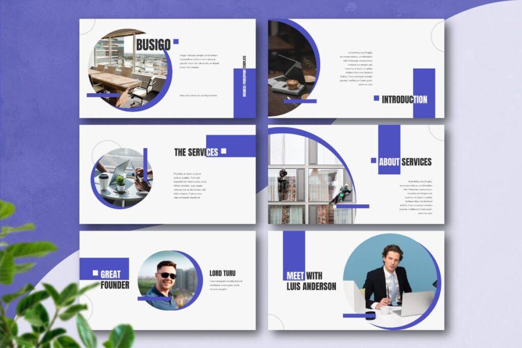 企业招标书宣讲PPT幻灯片模板BUSIGO Business Powerpoint Template插图(1)