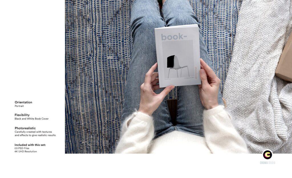 工业产品类平装书/精装书籍模型样机素材下载Book Mockups Ea6nquh插图(2)