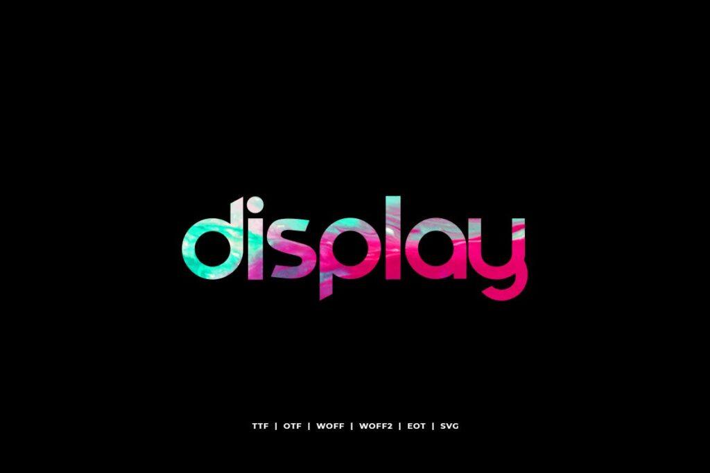 电影海报装饰英文手写字体下载Comodo Display Typeface WebFonts插图(1)