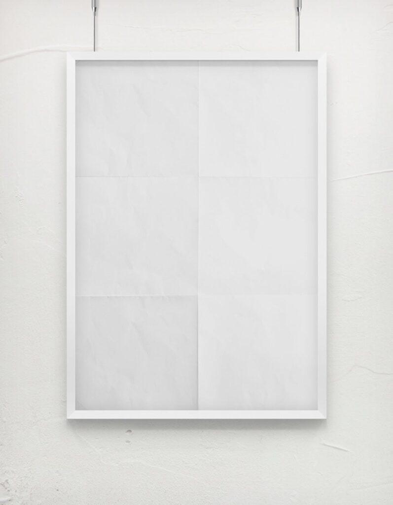 海报展示画框相框模型样机效果图Frame For Your Work 2插图(1)