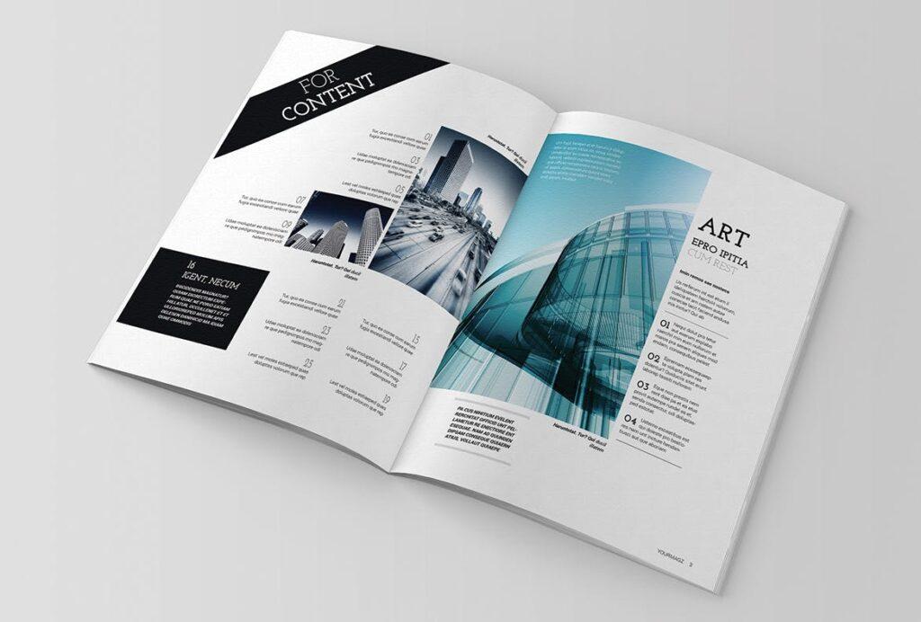 建筑行业/建筑设计作品介绍模板Indesign Magazine Template插图(1)