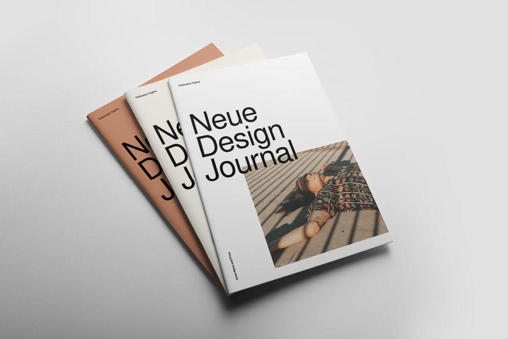 企业多用途业务介绍画册模板Neue Magazine插图(1)