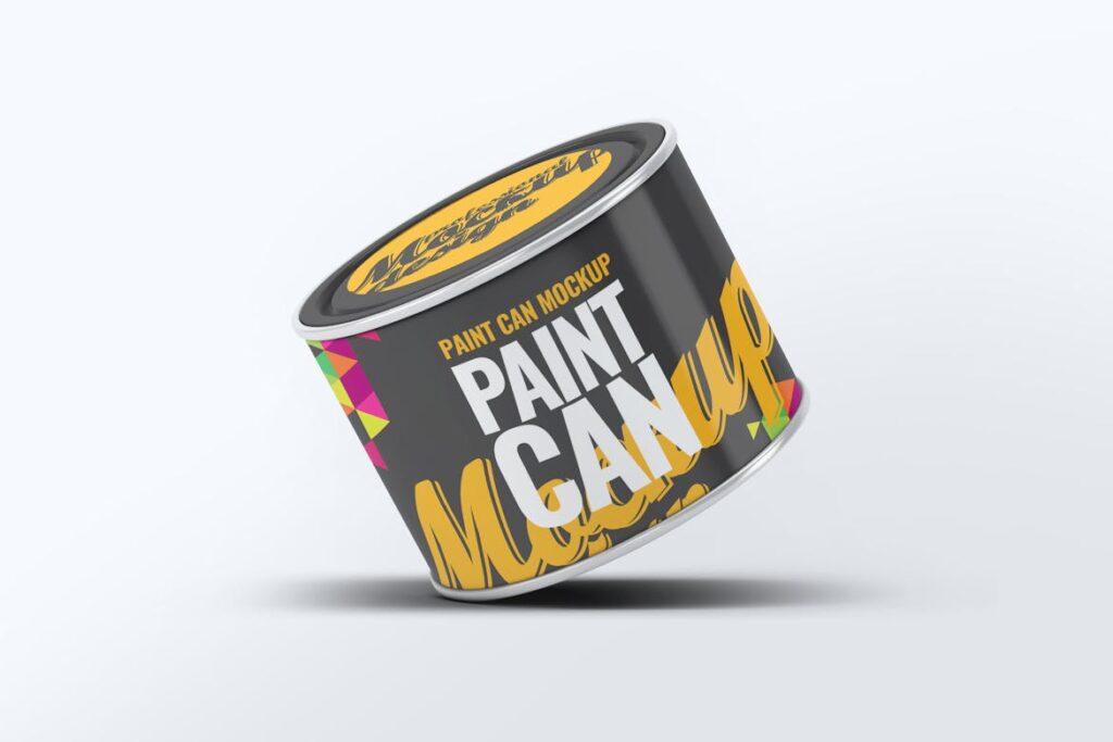 高级油漆/街头艺术喷绘样机素材下载Paint Can Mock Up v2 24M89Y插图(1)