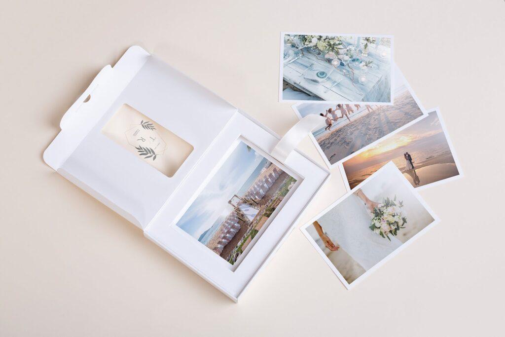 文艺精致旅游纪念相片盒模型样机Photo Box Mock Up P2FNJ8D插图(1)