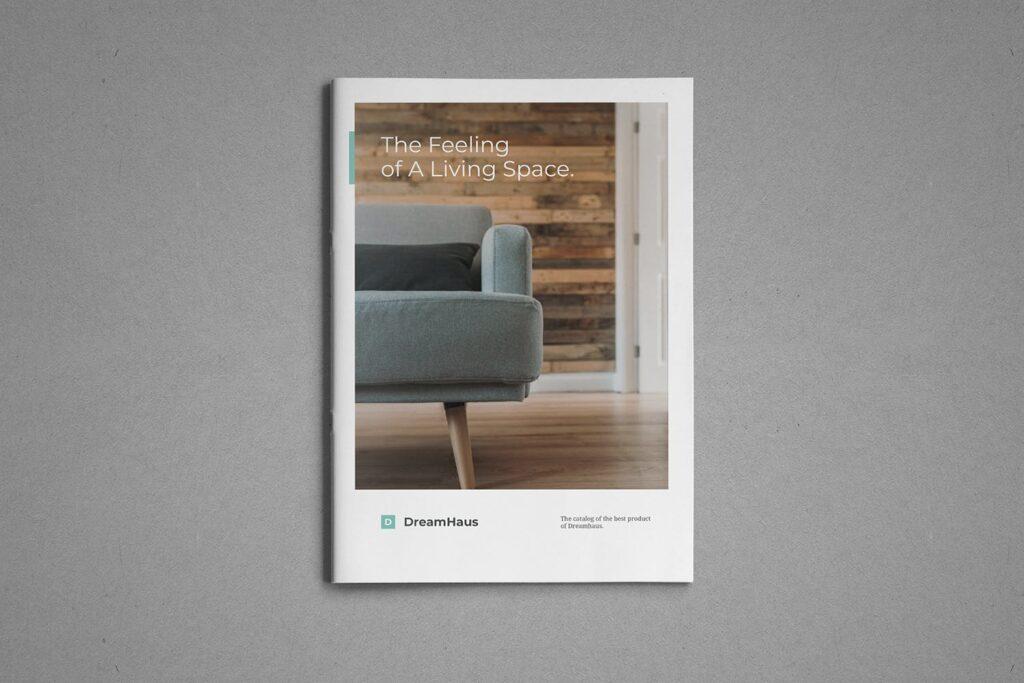 现代专业的产品目录小册子模板素材Product Catalog Brochure插图(1)