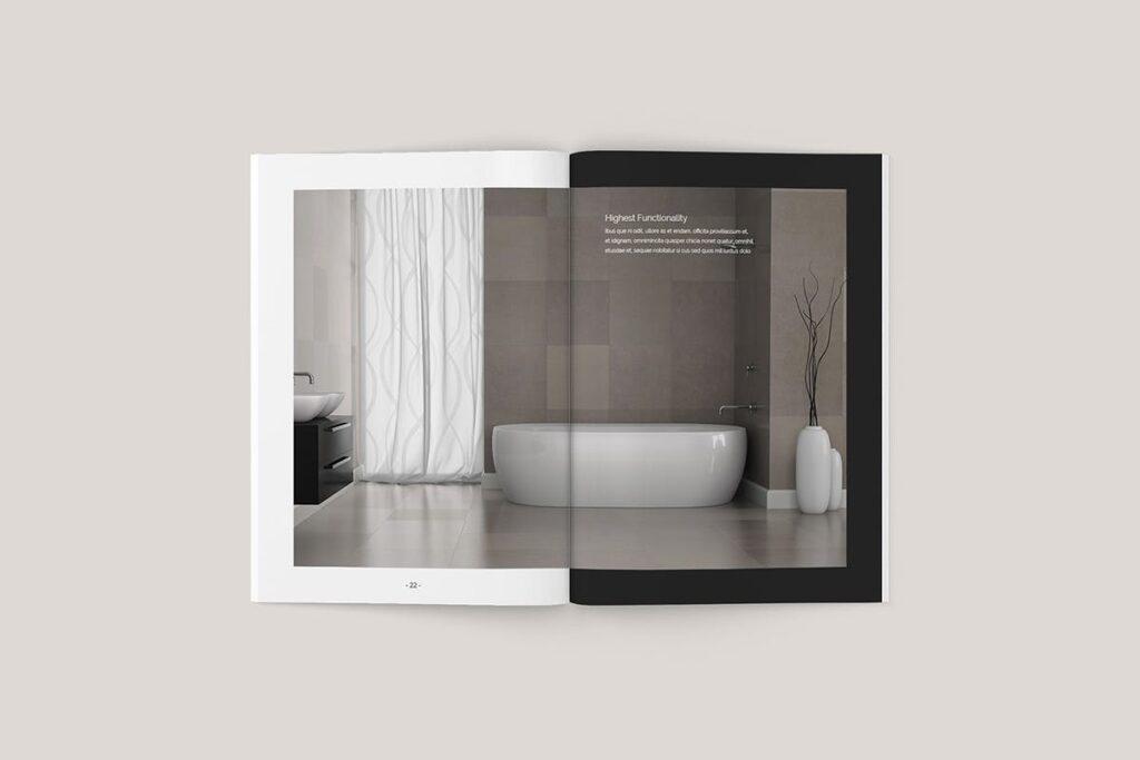 家居类企业宣传册/提案画册杂志模版Sirius Proposal Template插图(1)