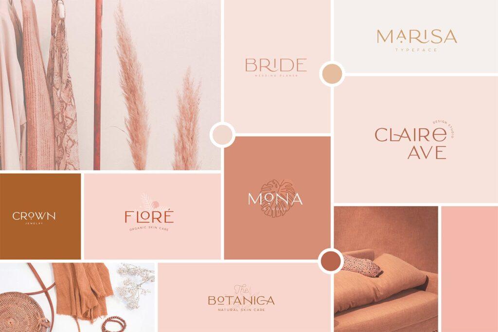 服装品牌装饰手写字体下载Classy Marisa Elegant Typeface插图(1)