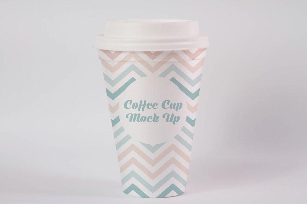 文艺咖热饮纸杯/咖啡杯模型样机素材Coffee Cup Mock Up HKEBC7插图(2)