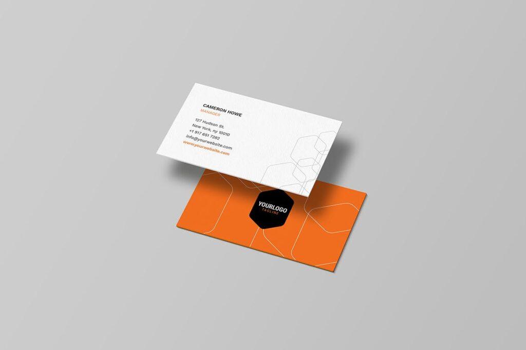 简约品牌识别系统样机模型效果图Corporate Stationery 2346evh插图(2)