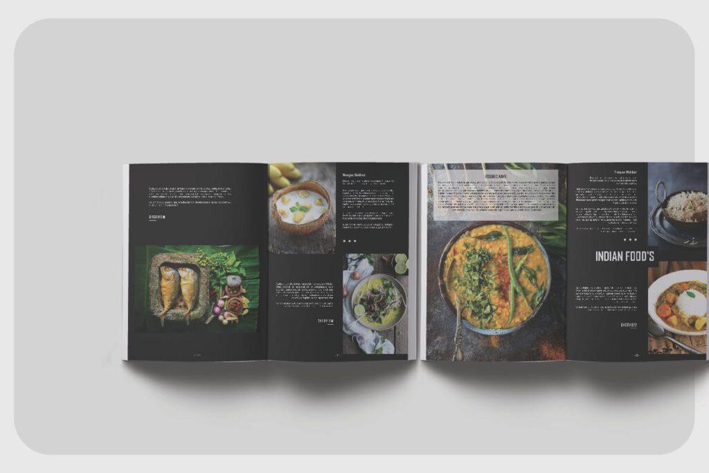 高端美食家餐饮美食料理周刊杂志模板FOODIES Photograph Lookbook插图(2)