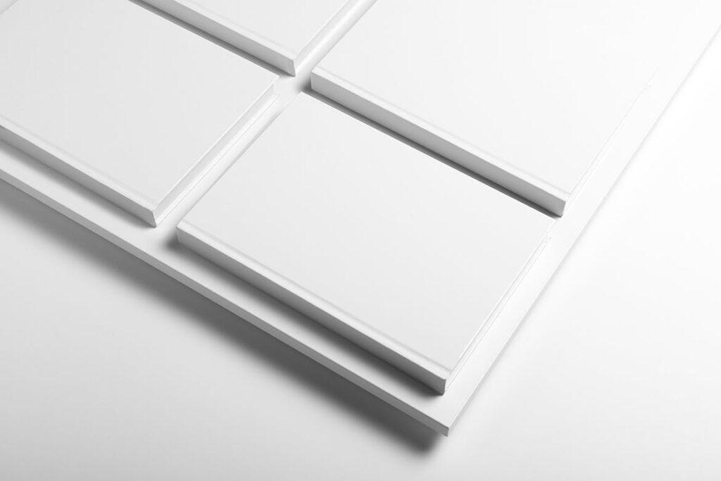 精装书硬卡纸封面PSD模型模板样机效果图Hardcover Book Mockup Vol 1插图(2)