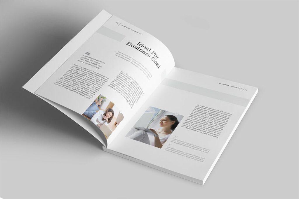 企业商务多用途/企业规划手册模板Magazine Template插图(2)