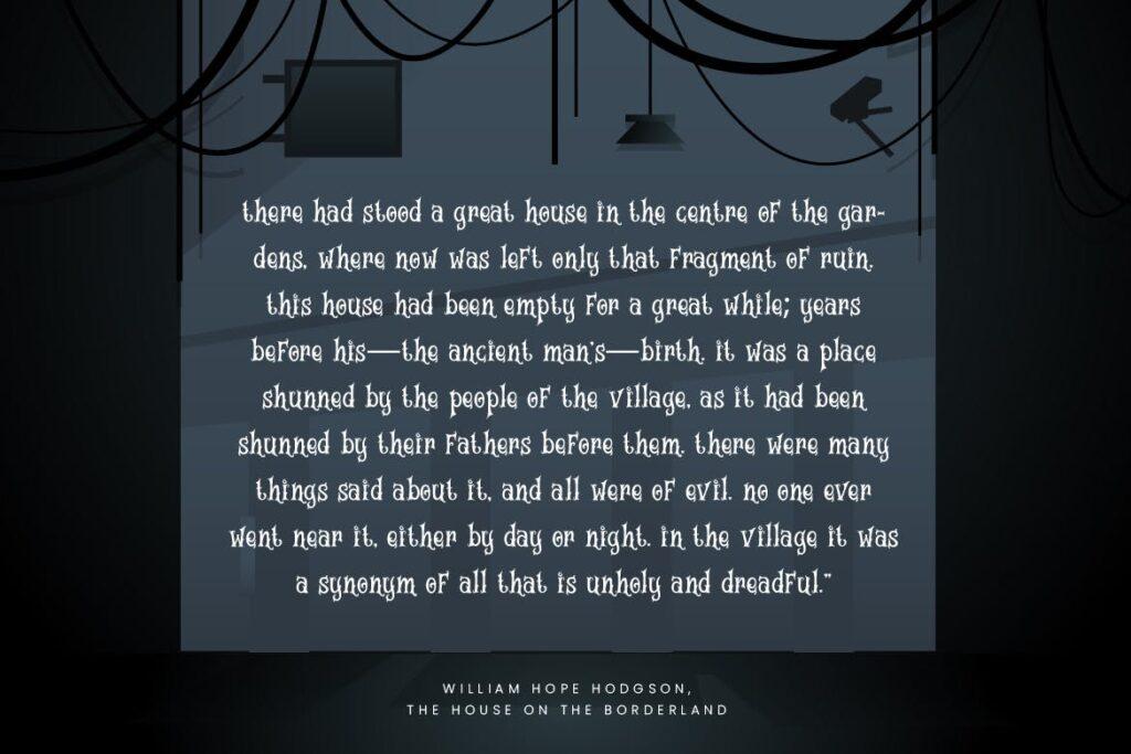 万圣节海报手写英文衬线字体下载Magic House Haunted Halloween Typeface插图(2)