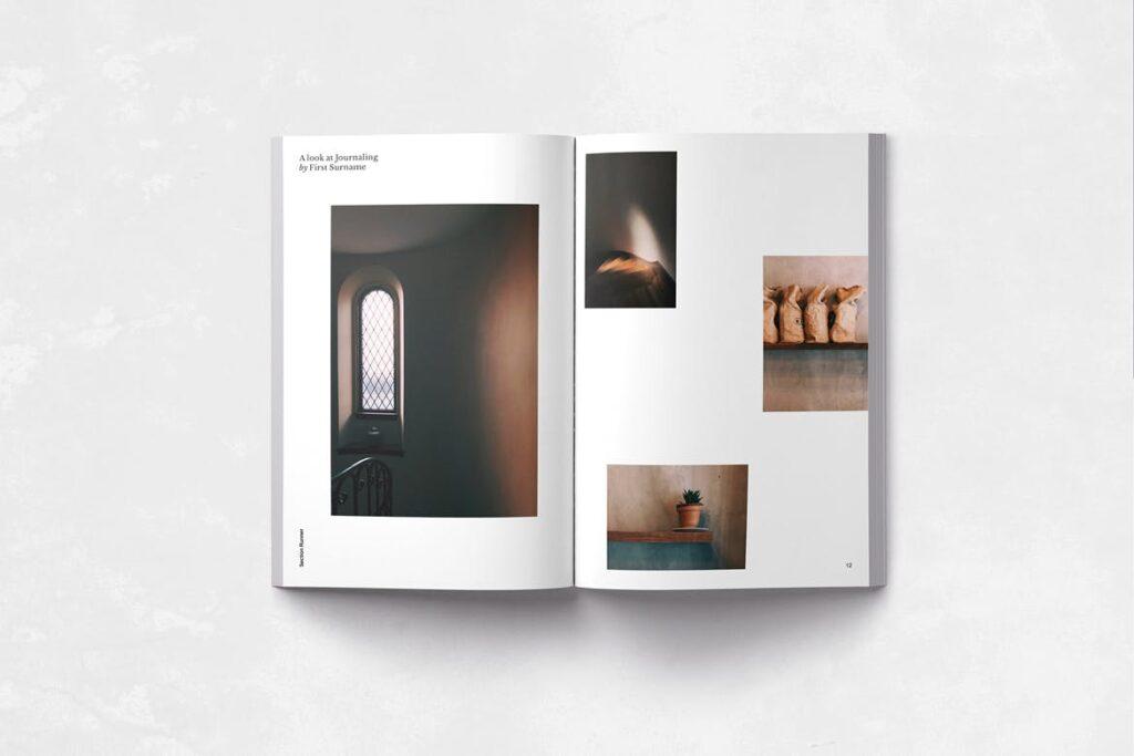 企业多用途业务介绍画册模板Neue Magazine插图(2)