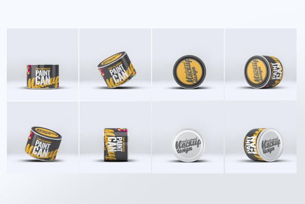 高级油漆/街头艺术喷绘样机素材下载Paint Can Mock Up v2 24M89Y插图(2)