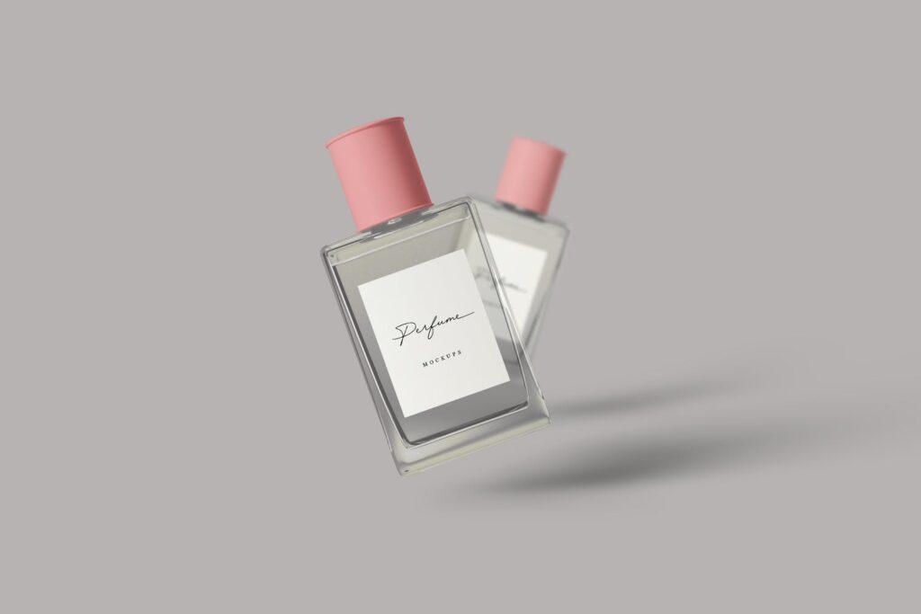 女性高端奢侈品牌香水样机模型效果图Perfume Mockups DM3N9SP插图(2)