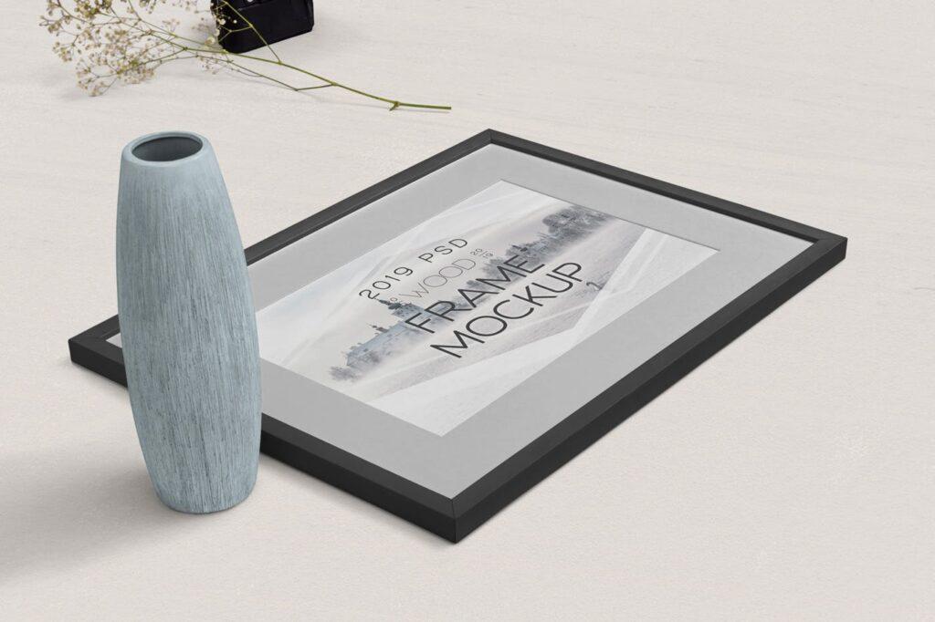 华丽相框模型样机素材下载Photography Frame Mockups插图(2)