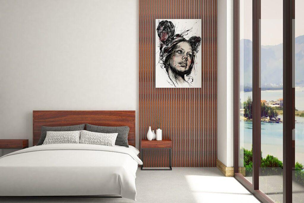 古典室内风格装饰相框模型样机效果图Picture Art Mockup Vol 9插图(2)