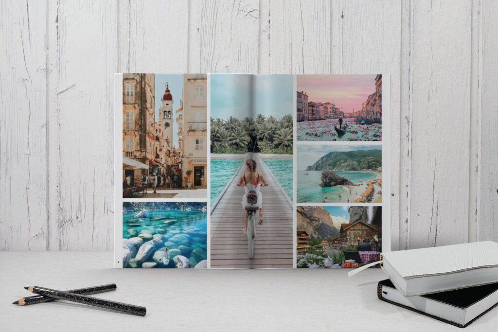 旅游简约和中性的杂志设计画册模版Place Magazine Template Lookbook插图(2)