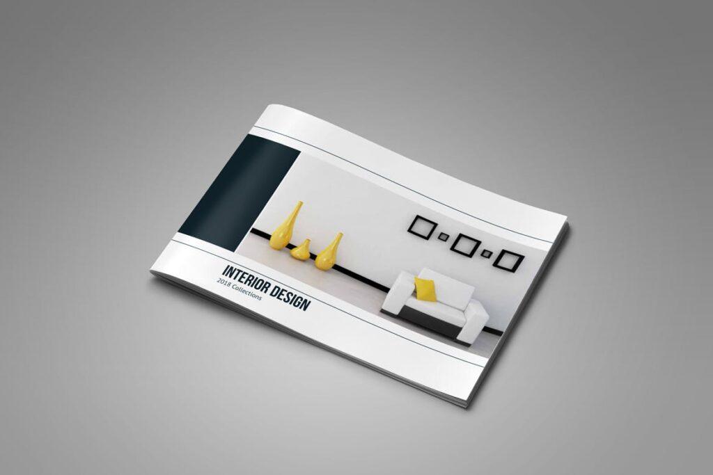 横版家居产品介绍/目录/投资组合画册模版素材Portfolio Brochure Catalog插图(2)